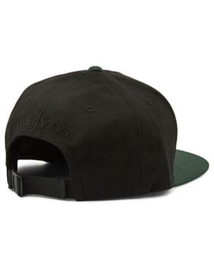 LYLE AND SCOTT COLOUR LOCK EAGLE CAP NERO VERDE GIADA RETRO