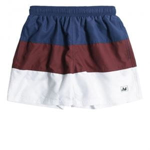 PEACEFUL HOOLIGAN ASHER SWIM SHORTS NAVY COSTUME UOMO FRONTALE