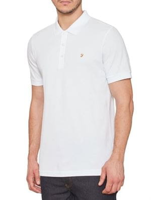 FARAH BLANEY POLO BIANCO FRONTALE
