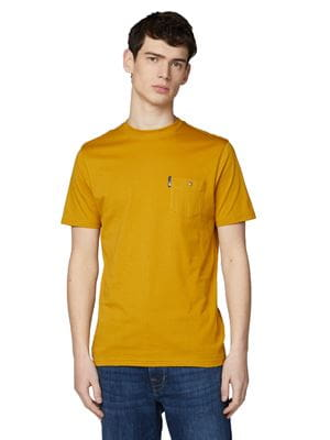 BEN SHERMAN SIGNATURE TEE YELLOW FRONT