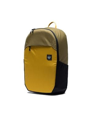 HERSCHEL MAMMOTH BACKPACK LARGE ZAINO VERDE KHAKI LATERALE
