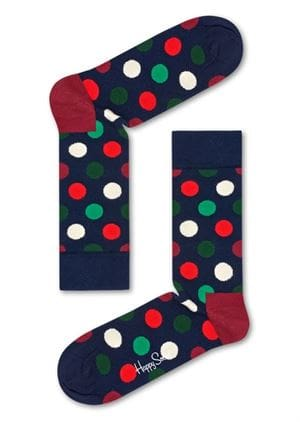 HAPPY SOCKS HOLIDAY BIG DOT GIFT BOX CALZE 4