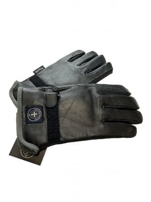 THREE STROKE PRODUCTIONS AW20 DURAN GLOVES BLACK BACK