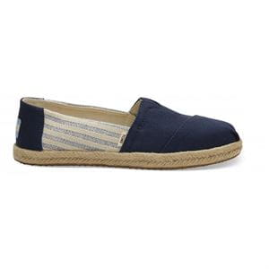 TOMS CLASSIC NAVY IVY LEAGUE MAN SHOES RIGHT SIDE