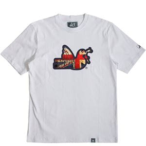 PEACEFUL HOOLIGAN UNION T-SHIRT UOMO BIANCO
