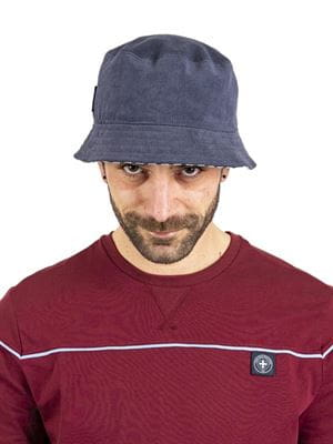 THREE STROKE PRODUCTIONS SS21 RENIS BUCKET HAT NAVY