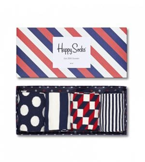 HAPPY SOCKS STRIPE GIFT BOX CALZE