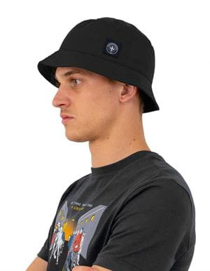 THREE STROKE PRODUCTIONS AW20 RENIS BUCKET HAT BLACK