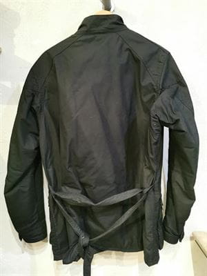 BARBOUR INTERNATIONAL GIACCA VINTAGE NERO RETRO