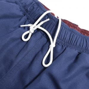 PEACEFUL HOOLIGAN COOPER SWIM SHORTS NAVY MAN DETAIL