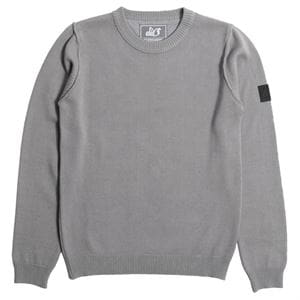 PEACEFUL HOOLIGAN SHOTGUN KNITWEAR MAGLIONE GRIGIO FRONTALE