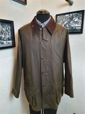 BARBOUR CLASSIC BEAUFORT 100.2 GIACCA UOMO FRONTALE