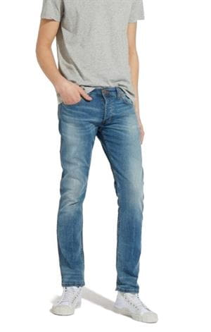 WRANGLER SPENCER FIRED UP JEANS UOMO FRONTALE