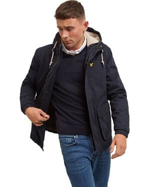 LYLE AND SCOTT WADDED JACKET GIACCA