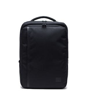 HERSCHEL TRAVEL BACKPACK ZAINO NERO FRONTALE