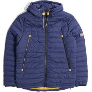PEACEFUL HOOLIGAN OUTBACK JACKET GIACCA BLU NAVY FRONTALE
