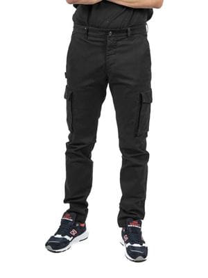 THREE STROKE PRODUCTIONS AW20 MUTI CARGO TROUSERS FRONT