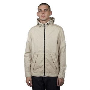 PEACEFUL HOOLIGAN RAY GIACCA BEIGE UOMO FRONTALE