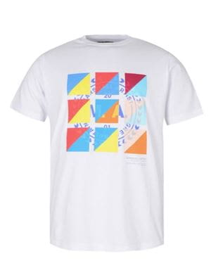 MARSHALL ARTIST SIGNAL 318 MAGLIA UOMO BIANCO FRONTALE