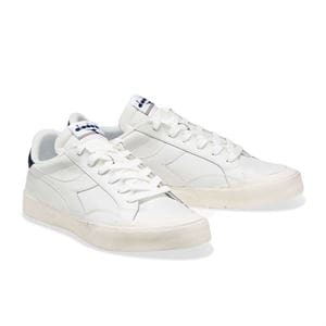 DIADORA MELODY LEATHER DIRTY BLUE FRONT