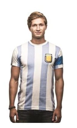 COPAFOOTBALL ARGENTINA MAGLIA FRONTALE 2