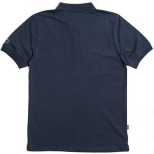 PEACEFUL HOOLIGAN ERNEST POLO NAVY BACK