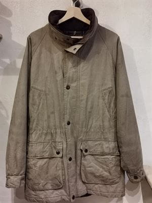 BARBOUR BREATHABLES GIACCA VINTAGE BEIGE FRONTALE
