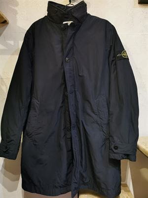 STONE ISLAND VINTAGE MICRO REPS JACKET DARK BLUE FRONT