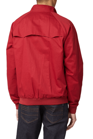 BEN SHERMAN SIGNATURE HARRINGTON JACKET ROSSO RETRO