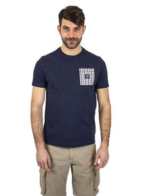 THREE STROKE PRODUCTIONS EMERY T-SHIRT NAVY FRONT