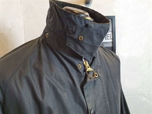 BARBOUR CLASSIC BEAUFORT 100-4 GIACCA UOMO VINTAGE COLLO CHIUSO