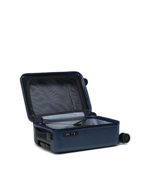 HERSCHEL TRADE LUGGAGE CARRY ON TROLLEY RIGIDO NAVY INTERNO
