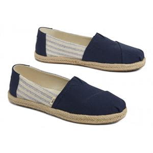 TOMS CLASSIC NAVY IVY LEAGUE MAN SHOES
