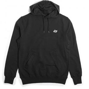 PEACEFUL HOOLIGAN OH HOODIE FELPA NERO UOMO FRONTALE