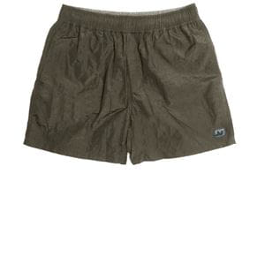 PEACEFUL HOOLIGAN TECHNICAL SWIM SHORTS OLIVE COSTUME UOMO FRONTALE