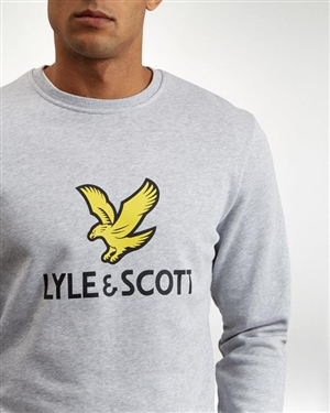 LYLE AND SCOTT LOGO SWEATSHIRT MAN