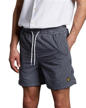LYLE & SCOTT SWIM SHORTS IN GINGHAM
