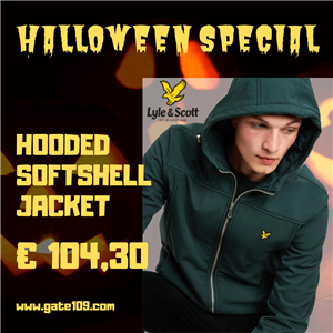 Speciale Halloween 2019 Lyle and Scott Softskell Jacket