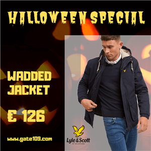 Speciale Halloween 2019 Lyle and Scott Wadded Jacket